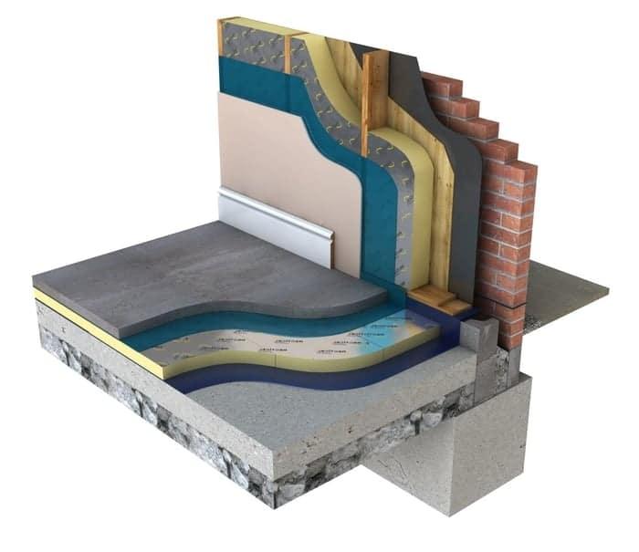 Wall Floor Internal Cavity, New Zealand